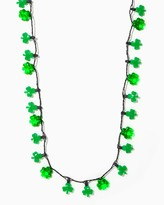 Charming charlie Glowing Shamrock Necklace