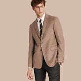 Burberry Modern Fit Wool Cashmere Silk Tailored Jacket