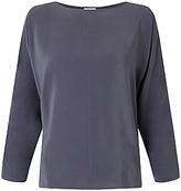 Jigsaw Silk Front Dolman Sleeve Top
