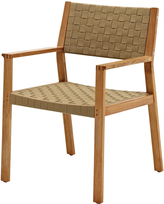 Houseology Gloster Maze Dining Chair with Arms - Malt