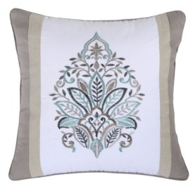 "Levtex Rome 18"" x 18"" Damask Decorative Pillow"