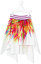 Junior Gaultier printed skirt - kids - Cotton/Polyester - 4 yrs