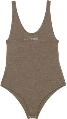 Burberry Knitted Sleeveless Bodysuit