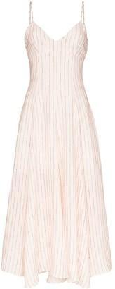 Three Graces Carlota stripe dress