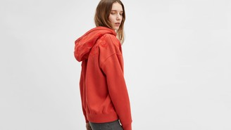 Levi's Lace Up Hoodie