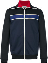 Valentino striped zipped jacket - men - Cotton/Polyamide - M
