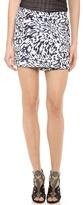 Low Waist Miniskirt