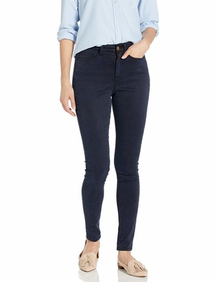 Daily Ritual Amazon Brand Women's Sateen High-Rise Skinny Pant