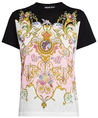 Versace Jeans Couture Versailles Printed T-Shirt