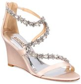 Badgley Mischka Bennet Strappy Wedge Evening Sandals