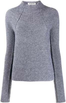 Jil Sander piped seams knitted jumper
