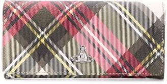 Vivienne Westwood Tartan Print Wallet