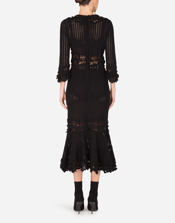 Thumbnail for your product : Dolce & Gabbana Wool sheath dress