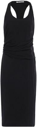 alexanderwang.t Draped Stretch-cotton Jersey Dress