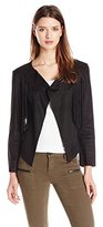 Buffalo David Bitton Women's Oleta Faux Suede Fringed Jacket