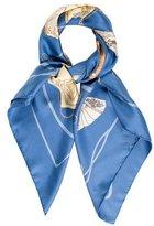 Hermes Carnets De Bal Silk Scarf
