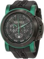 Haurex Italy Men's San Marco Aluminum Rubber Chrono Watch 3D370UNV