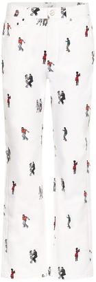 Kirin Dance printed jeans