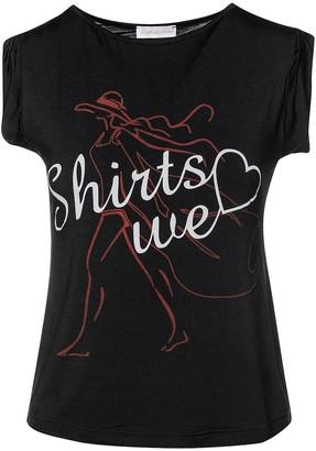 Conquista Black Shirts We Love T-Shirt