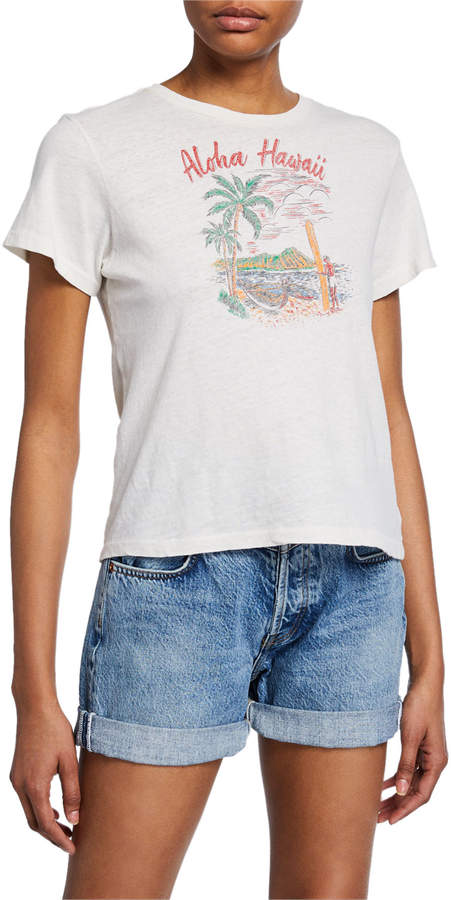 56d51d78 Hawaii Graphic Tee - ShopStyle