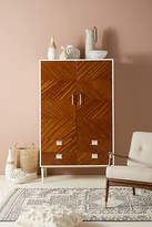 Anthropologie Geo-Marquetry Armoire