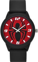 Star Wars Spiderman Red Dial Black Strap Watch