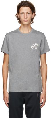 Moncler Grey Logo T-Shirt