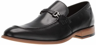 Stacy Adams Men's Duval Moc-Toe Slip-On Penny Loafer