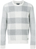 Woolrich checked jumper