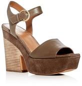 Marc Fisher Perla Platform Wedge Sandals