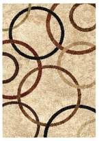 Orian Circle of Life Bisque Rug