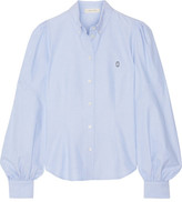 Marc Jacobs Cotton Oxford Shirt - Light blue