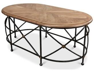 Sarreid Ltd. Drum and Fife Coffee Table
