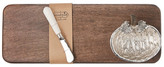 Mud Pie Brown Harvest Board & Spreader Set