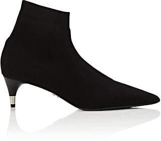 Prada Women's Stretch-Knit Ankle Boots - Nero