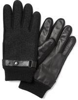 Banana Republic Twill Flannel Glove