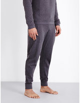 Hugo Boss Contemporary Quilted Cotton-jersey Pyjama Bottoms