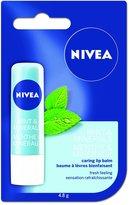 Nivea Lip Care Pure & Natural Mint & Minerals 4.8g