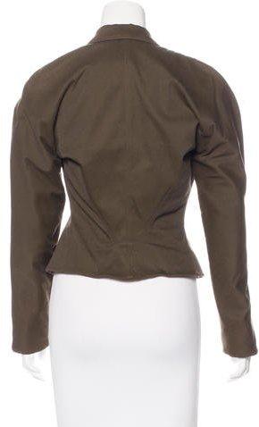 Alaia Peak-Lapel Double-Breasted Jacket