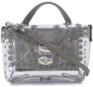 Zanellato embroidered perspex box bag