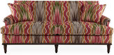 Michael Thomas Collection Anaheim 78 Sofa, Berry/Multi Linen