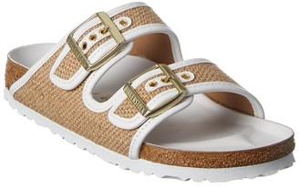 Birkenstock Arizona Jute & Leather Sandal