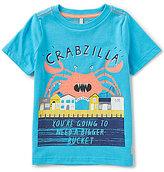 Joules Little Boys 3-6 Ben Crabzilla Short-Sleeve Graphic Tee