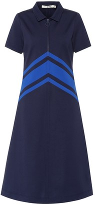 Tory Sport Chevron tech ponte dress