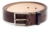 Paul Smith Hand-burnished leather belt