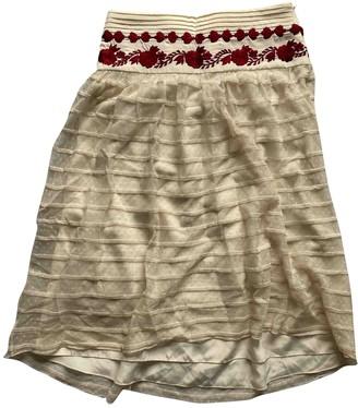 ALICE by Temperley White Silk Skirt for Women