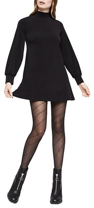 BCBGeneration Knit City Long-Sleeve Mini Dress