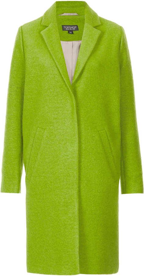 Topshop Wool Boyfriend Coat