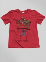 Junk Food Clothing Kids Boys I'm The Strongest Tee-rstr-xl