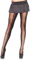 Leg Avenue Women's Faux Lace Up Tights